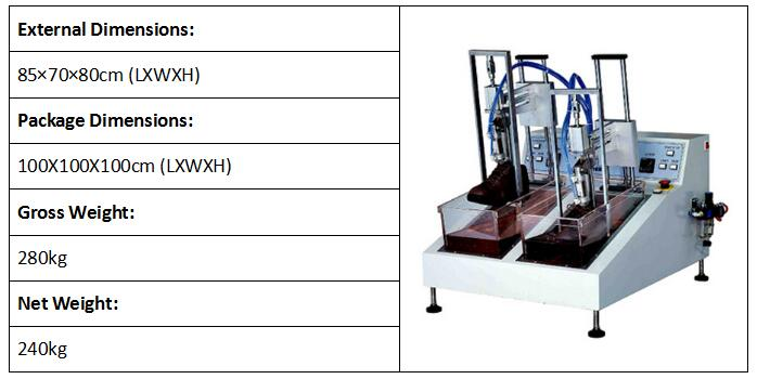 Dynamic Water Resistance Test machine